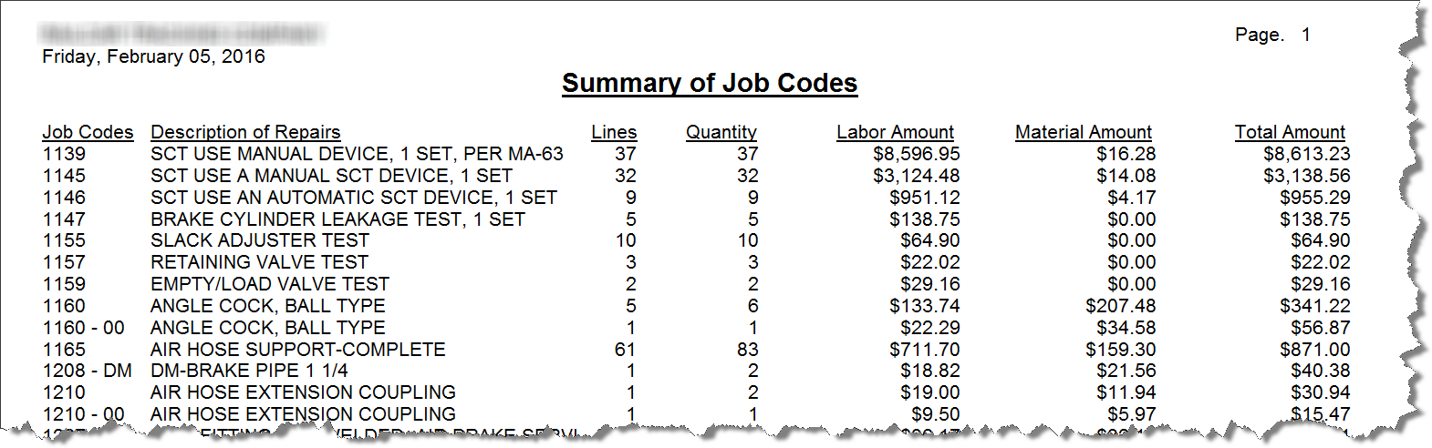 job-codes-report